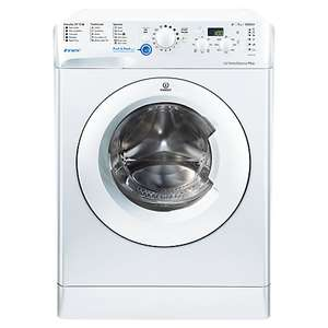 Indesit Innex BWD71252 Freestanding Washing Machine, 7kg Load, A++ Energy Rating, 1200rpm Spin, White