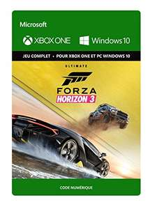 Forza Horizon 3: Édition Ultimate [Xbox One/Win 10 PC - Code] £37 Amazon France
