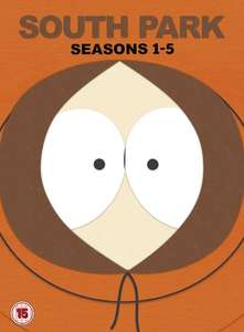 South Park 5 Series DVD Boxsets (1-5, 6-10, 11-15, 16-20)  £12 each at Zoom (or less with 10% first buy code)