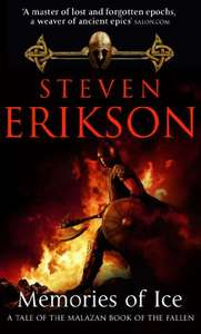 Memories of Ice: (Malazan Book of the Fallen: Book 3)  99p on Kindle @ Amazon