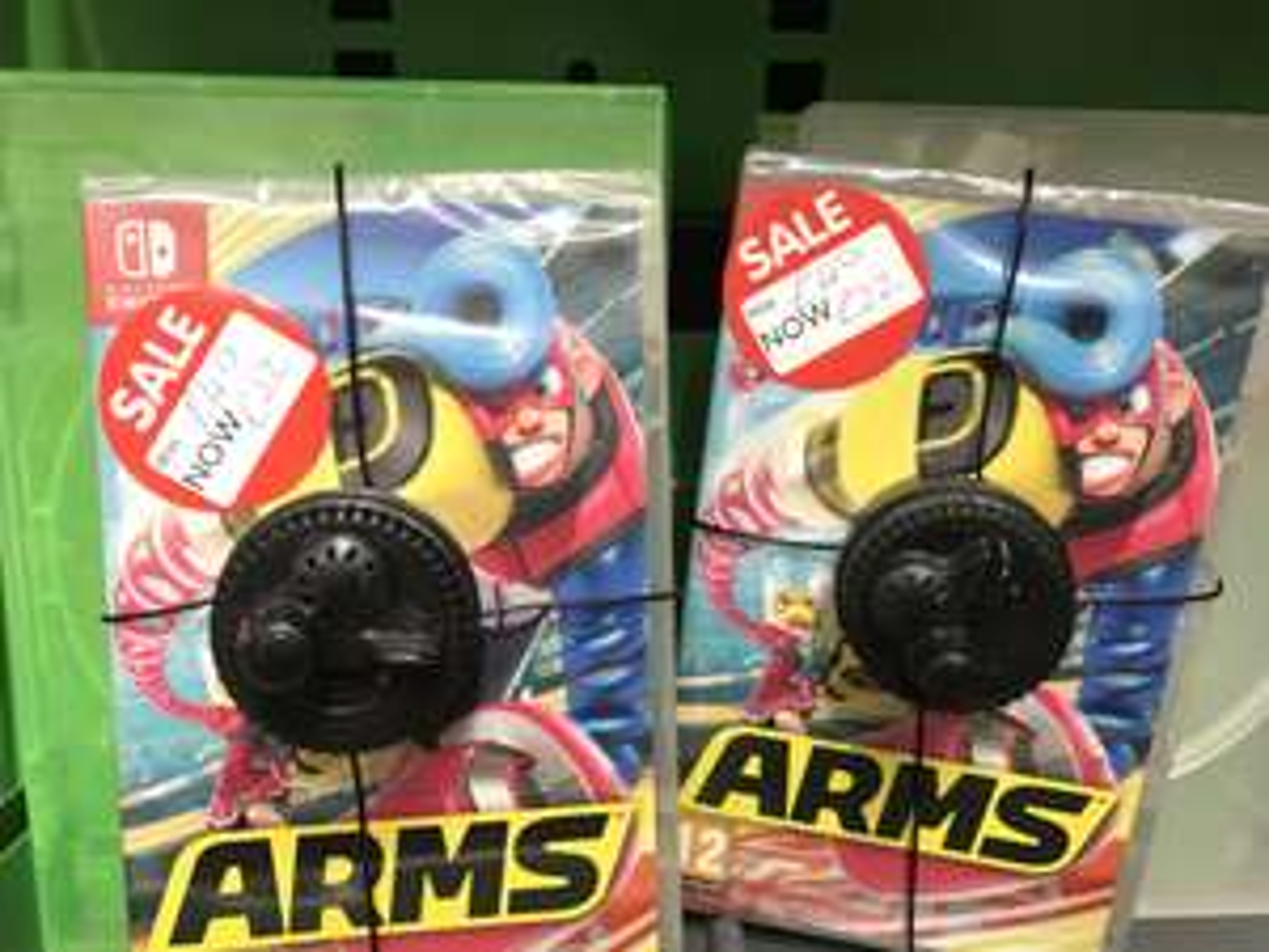 Arms for nintendo switch £22 @ Asda - Hamilton