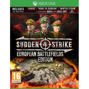 Sudden Strike 4: European Battlefields (Xbox One) £28.99 @ 365games [Pre-order for May 25th]