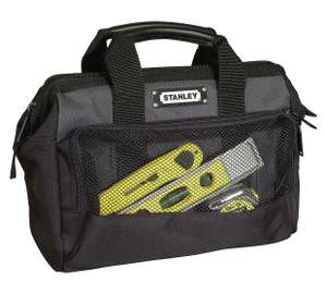 STANLEY 12 inch toolbag - excellent reviews - £8.99 at Argos.