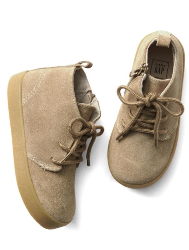 Suede mid-top sneakers - 96p instore @ Gap (London Regent Street)