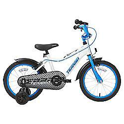 Terrain Racer 16 inch Wheel White Kids Bike - Was £110.00 ; Now £55.00 @ Tesco Direct