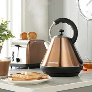 Goodmans Copper Kettle and Toaster breakfast set - £44.99 @ B&M