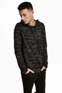 Waffled Jersey Hooded Top for £5.99 delivered using H&M Rewards @ H&M