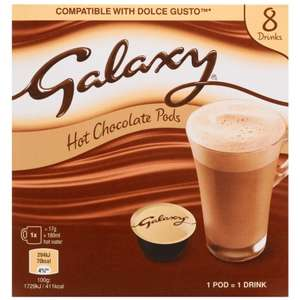 Galaxy Hot Chocolate Pods 8pk @ B&M was £3.49 now £3
