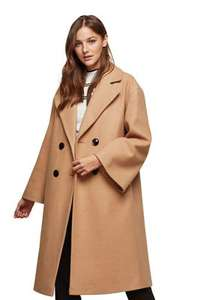 Miss Selfridge volume sleeves coat sizes 6,8,10 now £17.60 Was £75 @ Debenhams