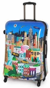 IT New York Illustration Suitcase - £24.99 @ B&M