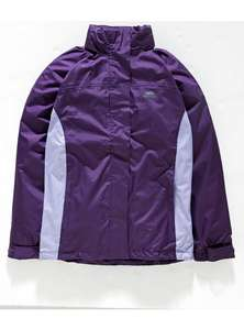 Trespass purple Tarran ladies jacket S,M,L,XL £9.99 was £29.99 @ Argos