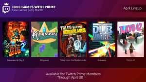 SteamWorld Dig 2/ Tokyo 42/ Tales from the Borderlands/ Kingsway/ DubWars- Free with Twitch Prime