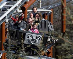 Drayton Manor Park Tickets for Two Adults and Two Children - £67.50 (w/code - EMAILEASTER25) @ BuyAGift