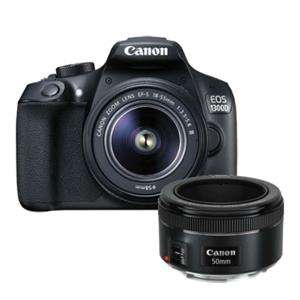 Canon EOS 1300D DSLR with 18-55mm & 50mm Lens £329 @ Jessops