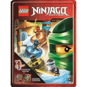 LEGO - Lego ninjago gift tin £4.49 at Debenhams - £2 c&c