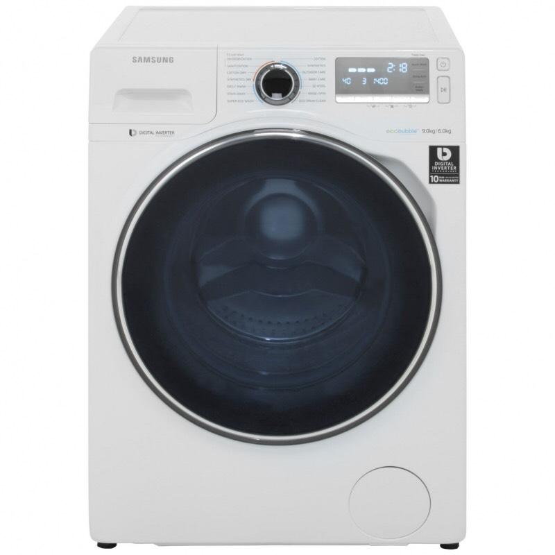 Samsung Ecobubble WD90J7400GW 9kg washer dryer £729 @ Appliances direct
