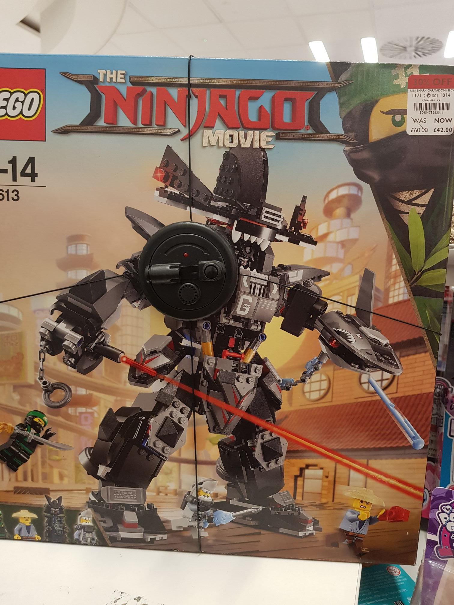 Lego Ninjago Movie in store Debenhams Bull Ring for £42