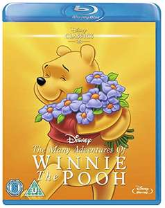 Many Adventures of Winnie the Pooh [Blu-ray] [Region Free] £9.04 prime / £11.03 non prime @ Amazon