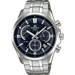 Casio Edifice Sapphire crystal Men's Watch EFB-550D, £99 from amazon