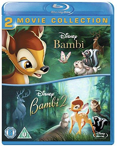 Bambi / Bambi 2 [Blu-ray] [1993] [Region Free] £10 prime / £11.99 non prime @ Amazon