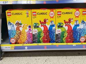 Lego 10704 £16.50  Tesco Slough back in stock