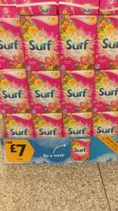 Surf washing powder 90 washes at Morrisons Colwyn Bay for £7