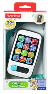 Fisher-Price BHC01 Laugh and Learn Smart Phone £7.98 prime / £11.97 non prime @ Amazon