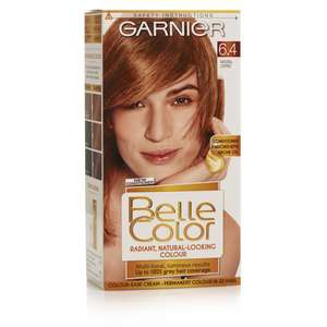 Garnier Belle Color 4 Natural Copper Permanent Hair Colour £1.75 at Wilko + Free click and collect