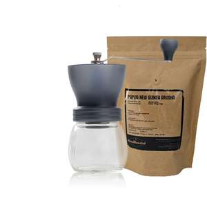 Hario Skerton Hand Coffee Grinder with free roasted coffee beans and free delivery. RRP £45.40 for £25.44 at Tchibo Coffee