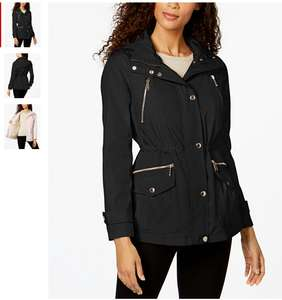 Michael Kors Hooded Zip-Pocket Anorak Sizes XS through to XXL £113.24 @ Macy's inc shipping and import duties pre-paid.