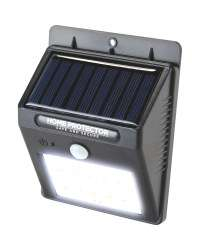 Solar LED light with motion sensor - £5.99 available from Thursday or add £2.99 for delivery @ ALDI