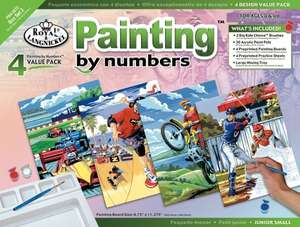 Paint by numbers Add on item £2.67 with £20 spend @ Amazon