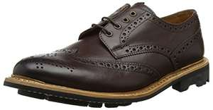 Men's Chatham Eaton, dark brown, Goodyear welted brogue, 9 UK, £37.95, Amazon