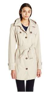 Tommy Hilfiger Women's Single Breasted Trench Coat, Sand, Large £62.81 @ Amazon.com (inc shipping and pre-paid taxes/import duty)