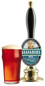 Free pint of seafarers ale for Fuller's pubs subscribers, check email