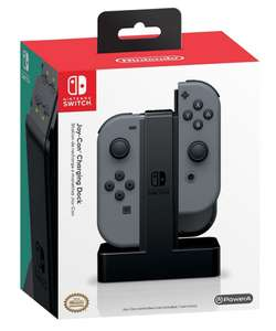 Joy con pair and official charging dock for 74.99 at Tesco Direct