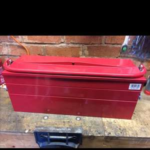 Halfords 5 tray cantilever tool box - £15 instore (Exeter)