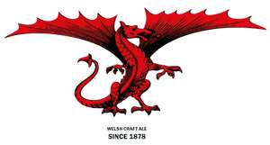 Dragon's Heart 4x 330ml canned Welsh craft ale £1.99 and Celtic Gold Welsh Canned Craft Lager 4x 330ml for £1.99 at Home Bargains instore only