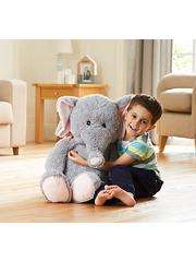 More stock ** Giant 1 metre high toy elephant £10 @ Asda George