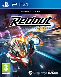 Redout Lightspeed Edition for PS4 - amazon.co.uk - £13.49 (prime) £15.48 (Non Prime)