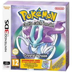 [Nintendo 3DS] Pokemon Crystal - £8.00 - Gamescentre