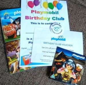 FREE Playmobil Kids Birthday Goodie Bag