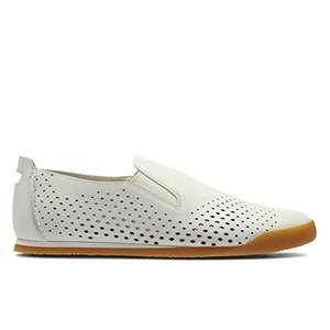 Clarks Siddal Step Leather Shoes in White £20 @ Amazon - Dispatched from and sold by Clarks