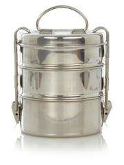 STL Stainless Steel 3 Tier Lunch Tiffin £6.00 @ Asda Direct -Free C+C
