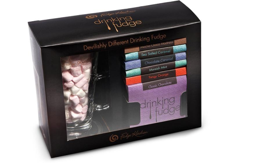 Fudge Kitchen - Drinking Fudge Gift Set - 260g add on item minimum 20 pound spend - £4.40 @ Amazon