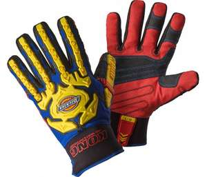 Dickies Heavy Duty Waterproof Impact Gloves £18 @ Dickies Store