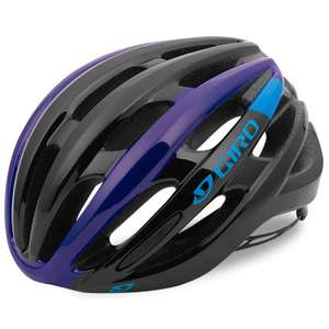 Giro Foray Helmet in Black/Blue/Purple - M/L, sale - £26.99 at Wiggle