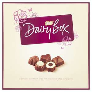 Dairy Milk Chocolates Box, 180 g (Pack of 8) by Dairy Box - £9.73 (Prime) £15.48 (Non Prime) @ Amazon