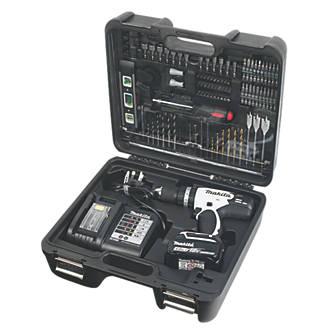 Makita DHP453SMWX 18V 4.0AH LI-ION Cordless Combi Drill & 101 Accessories - £129.99 @ Screwfix - Free C&C