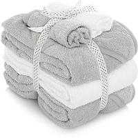 5 piece set- 3 babies hooded bath towels & 2 face cloths £7 @ Asda